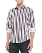 Robert Graham Midland Striped Sport Shirt - Lyst