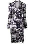 Diane von Furstenberg 'New Jeanne Two' Wrap Dress - Lyst
