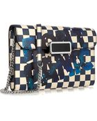 Marc By Marc Jacobs Pegg Don'T Panic Leather-Trimmed Pvc Shoulder Bag - Lyst