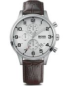 Boss by Hugo Boss Black Chronograph Watch, 44Mm - Lyst
