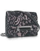 Diane von Furstenberg 440 Micro Mini Lace Crossbody Bag - Lyst