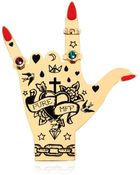 Maria Francesca Pepe Hand Graffiti Collection Pin - Lyst