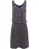 Marc By Marc Jacobs Puzzle Print Dress - Lyst