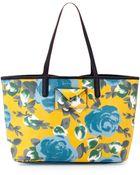 Marc By Marc Jacobs Metropolitote Floral-Print Tote Bag - Lyst