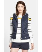 Barbour 'Forland' Hooded Quilted Vest - Lyst