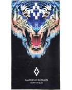 Marcelo Burlon Tiger Towel - Lyst