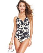 Inc International Concepts Botanical-Printed One-Piece Swimsuit - Lyst