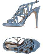 Schumacher Sandals - Lyst