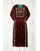 Free People Womens Vintage Handmade Velvet Dress - Lyst