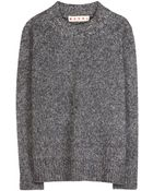 Marni Wool And Mohair-Blend Sweater - Lyst
