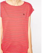 Fred Perry Striped T-Shirt - Lyst