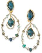 Alexis Bittar Orbiting Crystal Clip-On Earrings - Lyst