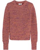 Acne Studios Lia Twist Cottonknit Sweater - Lyst