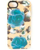 Marc By Marc Jacobs Floral Iphone5 Case - Lyst
