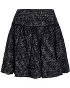 RED Valentino Tweed Skirt - Lyst