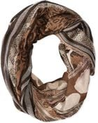 Collection Xiix Mixed Animal Stripe Infinity Loop - Lyst