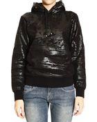Balenciaga Sweater Sweat Hoody Lanscape Print Tone On Tone - Lyst