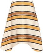 Chloé Tweed Skirt - Lyst