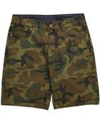 DKNY Camouflage Shorts - Lyst