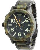 Nixon The 51-30 Chrono - The Karmaflage Collection - Lyst