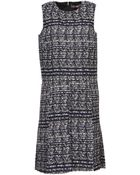 MSGM Knee-Length Dress - Lyst