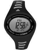 Adidas Mens Adizero Black And White Digital Sport Watch - Lyst