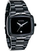 Nixon All Black The Player Watch - Lyst