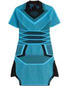 Alexander Wang Mesh Dress - Lyst