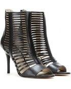 MICHAEL Michael Kors Odelia Open-Toe Ankle Boots - Lyst