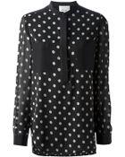 3.1 Phillip Lim Polka Dot Printed Blouse - Lyst