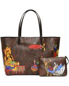 Etro Medium Paisley Play Coated Canvas Tote - Lyst