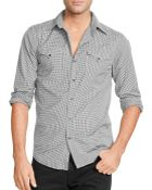 Ralph Lauren Black Label Piumino Stretch Button Down Shirt - Slim Fit - Lyst