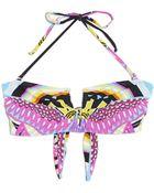 Mara Hoffman V-Wire Bikini Top - Lyst