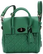 Mulberry Green Lambskin Mini 'Cara Delevingne' Convertible Shoulder Bag - Lyst
