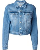 Acne Studios Tag It Denim Jacket - Lyst