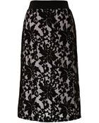 Clover Canyon Embroidery Skirt - Lyst