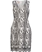 Giambattista Valli Short Dress - Lyst