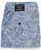 Zara Printed Boxer Shorts - Lyst
