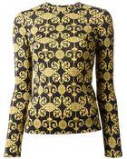 Versace Long Sleeve T-shirt - Lyst