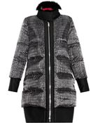 Moncler Gamme Rouge Janis Fur-Trimmed Quilted Down Coat - Lyst