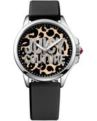 Juicy Couture Women'S Jetsetter Black Silicone Strap Watch 38Mm 1901143 - Lyst
