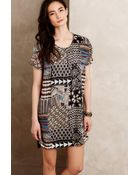 Anthropologie Mosaic Tunic Dress - Lyst