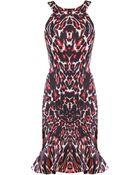McQ by Alexander McQueen Ruffle Hem Dress - Lyst