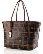 Lauren by Ralph Lauren Equestrian Leather Gallaway Tote - Lyst