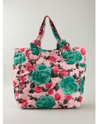 Marc By Marc Jacobs 'Pretty Nylon Jerrie Rose Lil Tate' Tote - Lyst