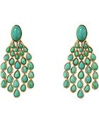 Aurelie Bidermann 'Cherokee' Turquoise Clip On Earrings - Lyst