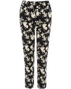 Oasis Shadow Rose Trousers - Lyst