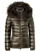 Duvetica Nefele Down Jacket With Fur-Trimmed Hood - Lyst