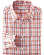 Uniqlo Men Premium Linen Check Long Sleeve Shirt - Lyst