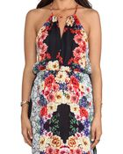 MINKPINK Laceys Choice Maxis Dress in Yellow - Lyst